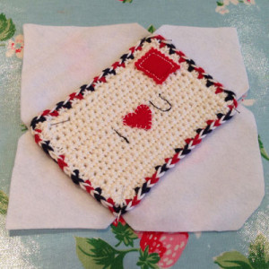 free crochet love note pattern