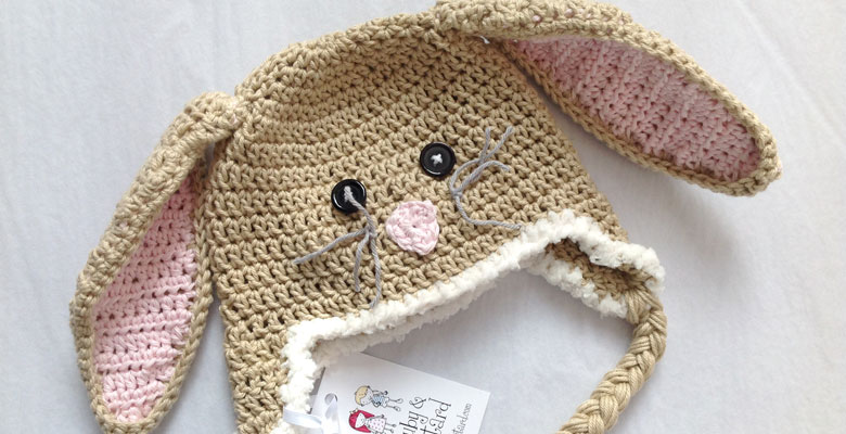Handmade Bunny Rabbit Hat