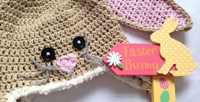 Crochet Easter Bunny Hat