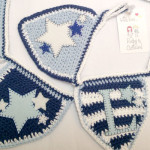 Blue Boy Bunting in stars and stripes