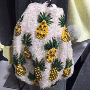 crochet pineapple bag