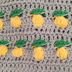 crochet pineapple test