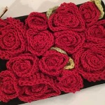 Crochet Rose Bag